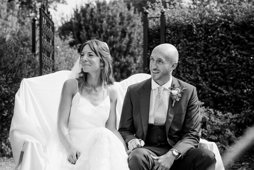 Beautiful bride Robyn wears a wedding dress by Halfpenny London