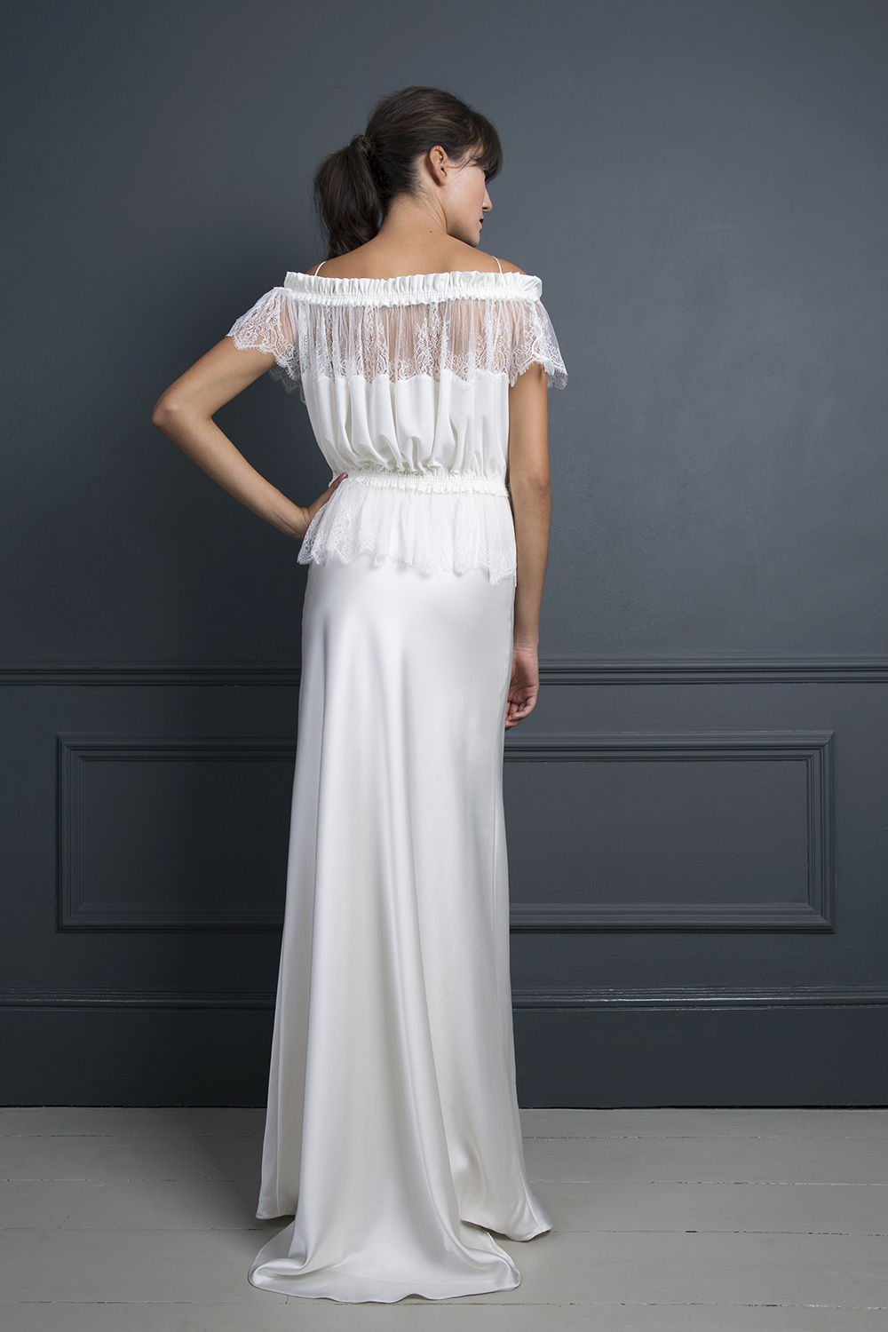 ALICE TOP & IRIS SLIP | A WEDDING DRESS BY HALFPENNY LONDON