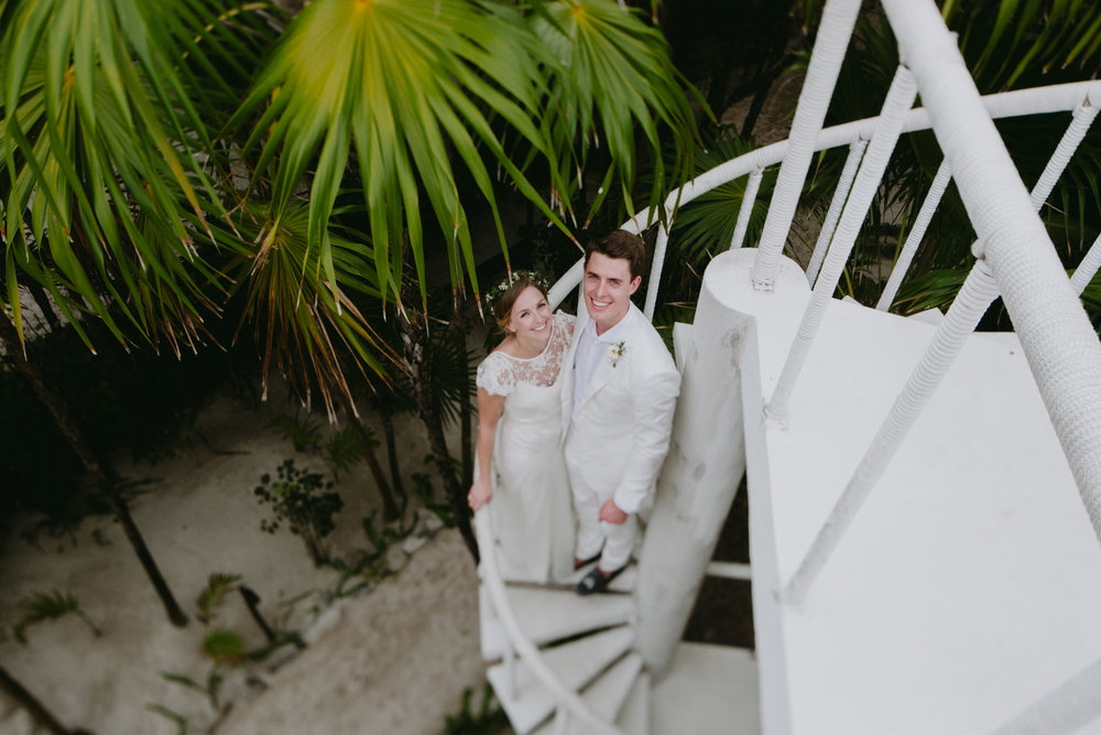 Gorgeous bride Chloe wears a wedding dress by Halfpenny London