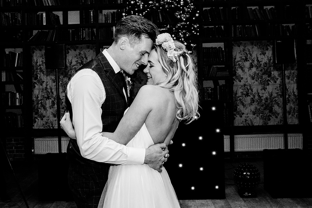 Beautiful bride Alice wore bridal separates by Halfpenny London