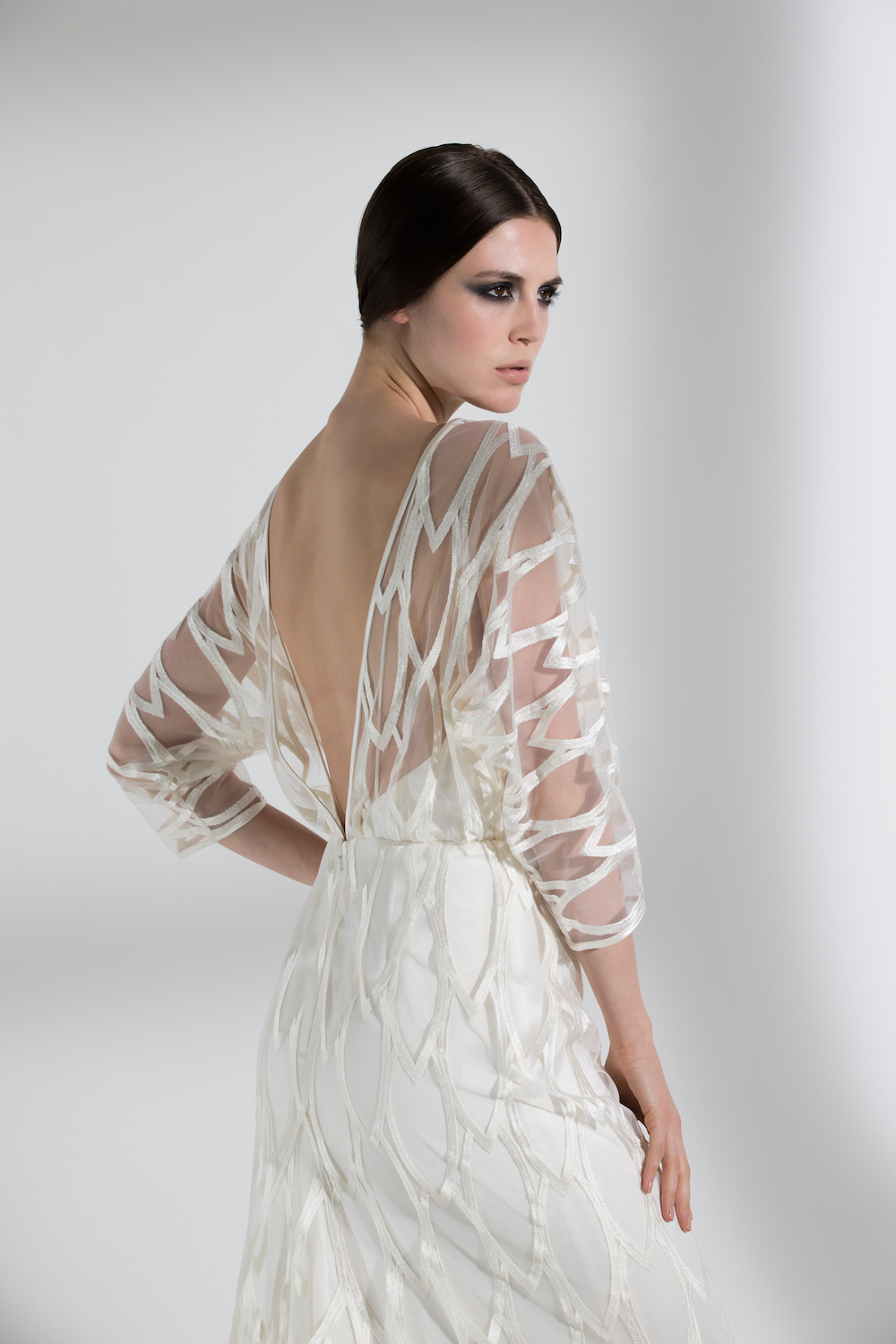 WILLOW DRESS | WEDDING DRESS BY HALFPENNY LONDON