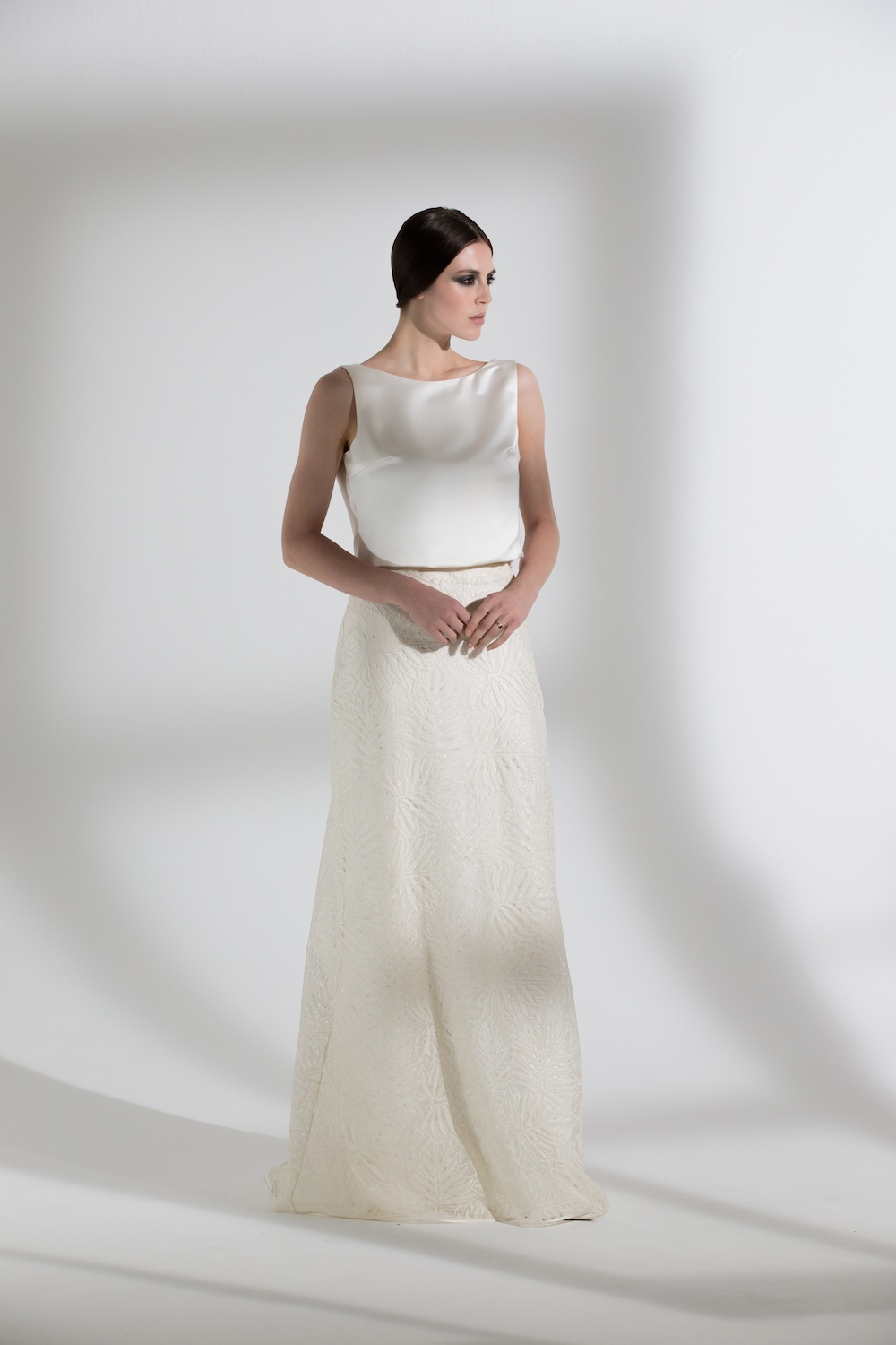 PALMA SKIRT & RAFE TOP | WEDDING DRESS BY HALFPENNY LONDON
