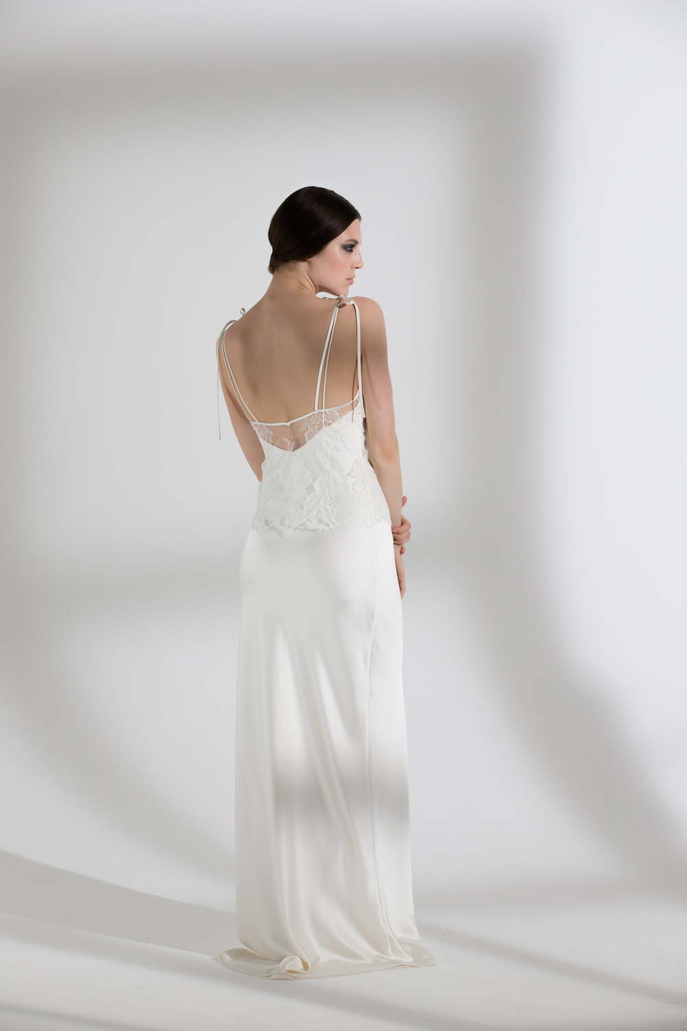 HEATHER TOP & IRIS SLIP | WEDDING DRESS BY HALFPENNY LONDON