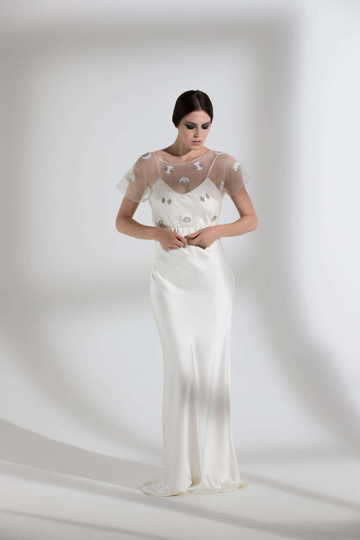 POSEY TOP & IRIS SLIP | WEDDING DRESS BY HALFPENNY LONDON