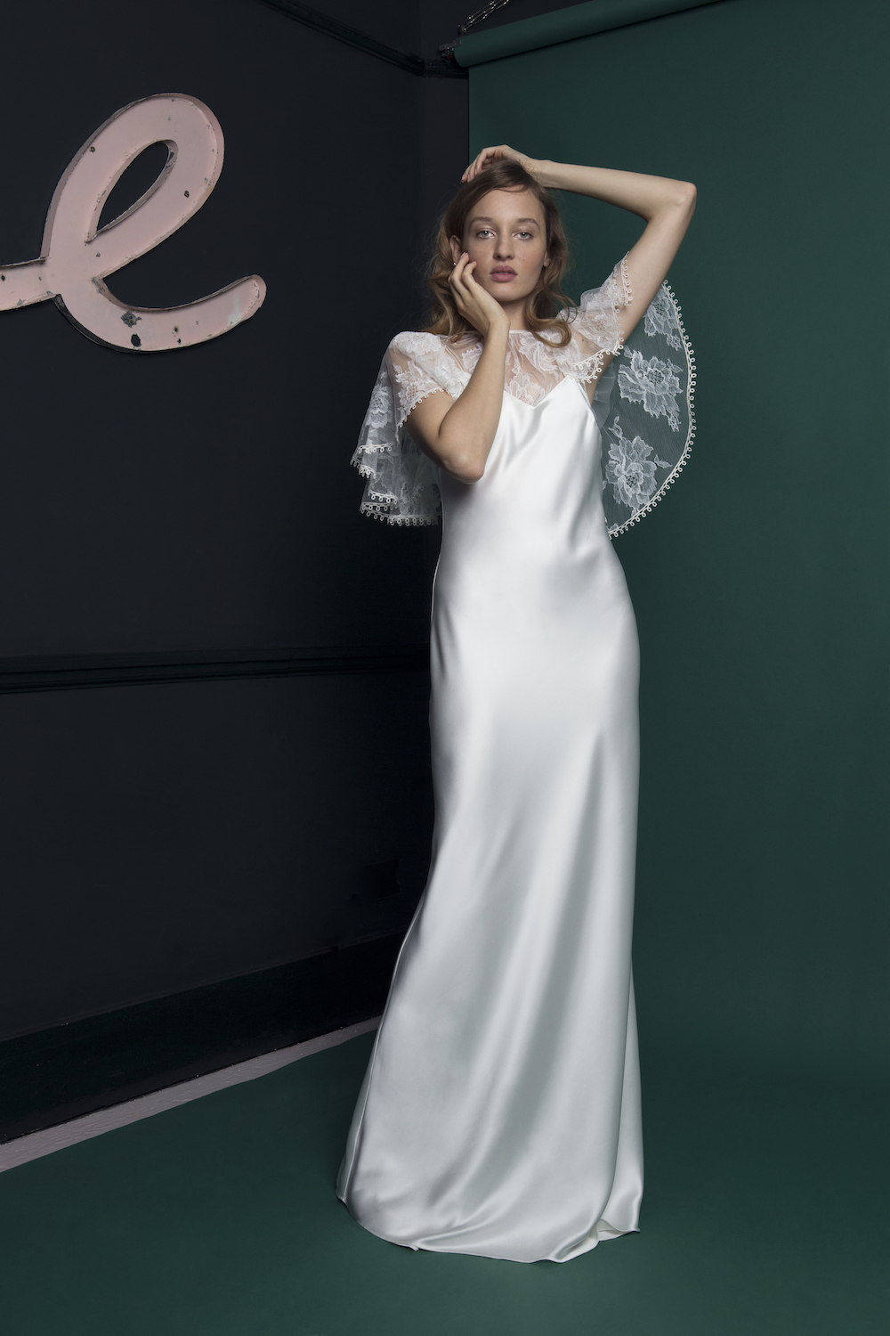 RIDLEY TOP & IRIS SLIP | WEDDING DRESS BY HALFPENNY LONDON