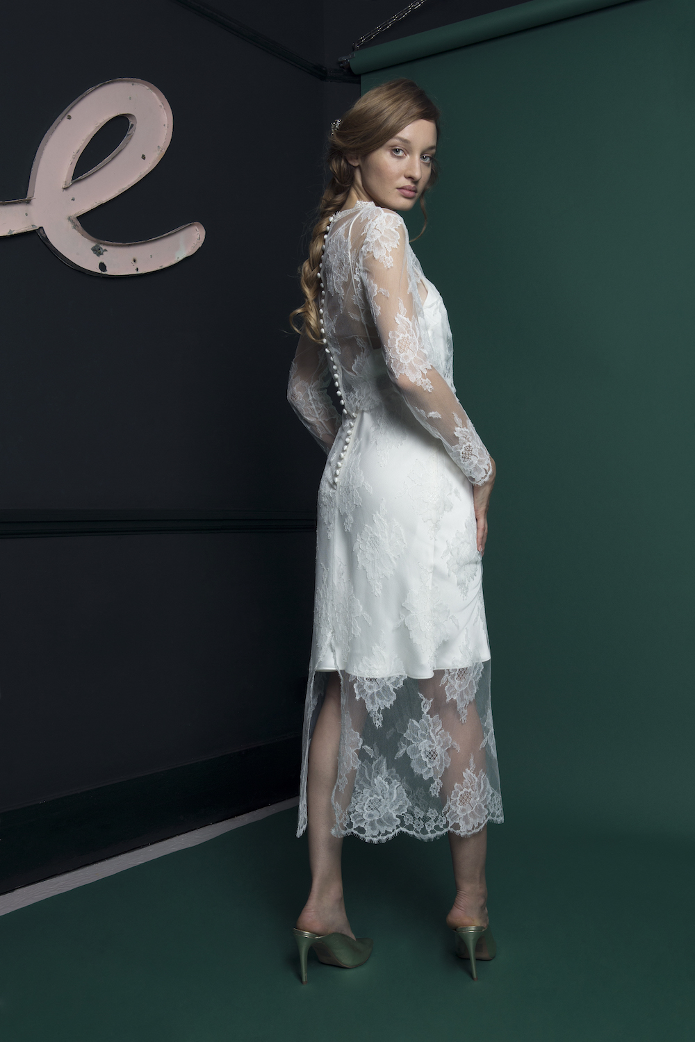 RIVER TOP & SKIRT | WEDDING DRESS BY HALFPENNY LONDON
