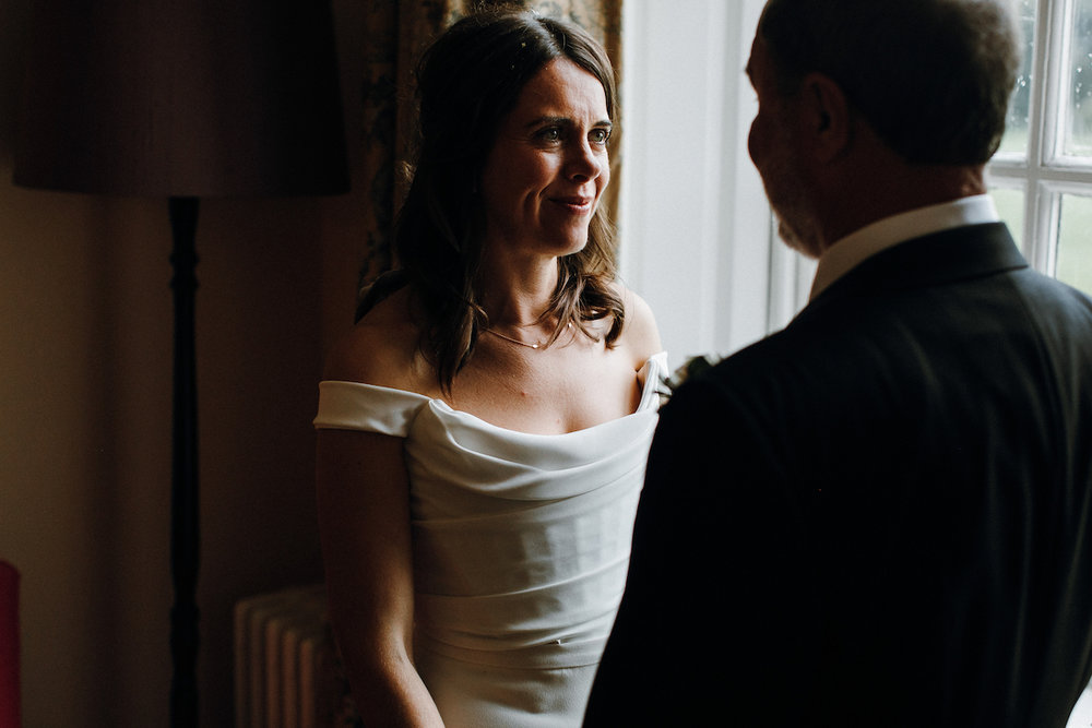 Gorgeous bride Katie wore a wedding dress by Halfpenny London