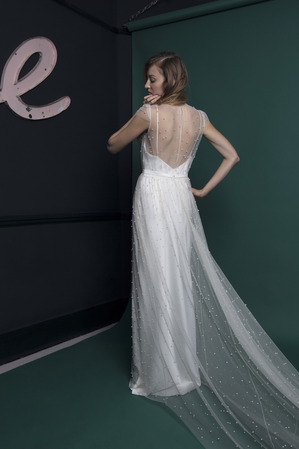 The Pearl dress | Atlantis Collection | Wedding dress by Halfpenny London