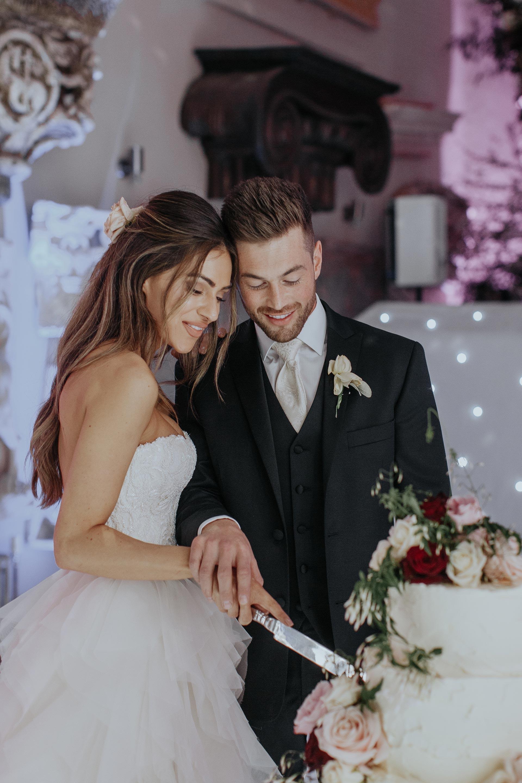 18c5051f2aad Gorgeous bride Lydia Elise Millen wore a wedding dress by Halfpenny London