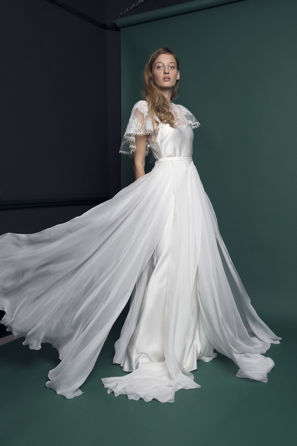 RIDLEY TOP & SKIRT | WEDDING DRESS BY HALFPENNY LONDON