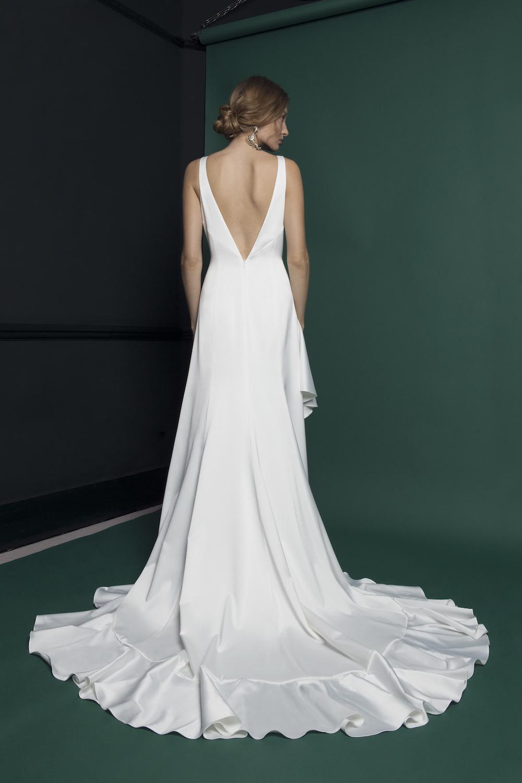 WAVE DRESS | WEDDING DRESS BY HALFPENNY LONDON
