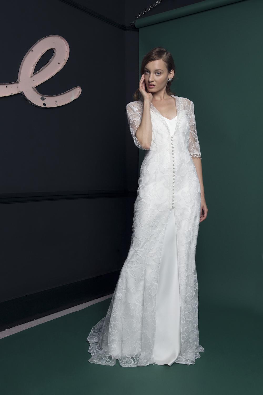 SHORE DRESS | WEDDING DRESS BY HALFPENNY LONDON