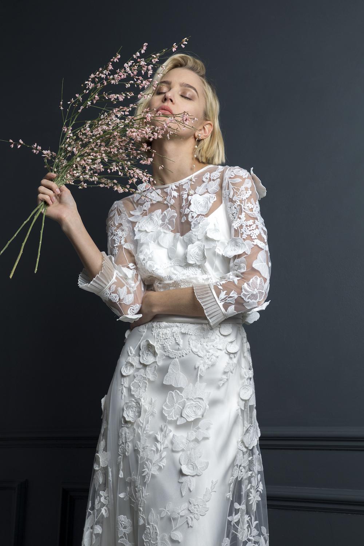 BOBBY TOP & BAY SKIRT | WEDDING DRESS BY HALFPENNY LONDON