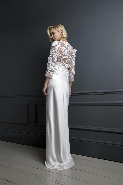 BOBBY TOP & VIOLET SLIP | WEDDING DRESS BY HALFPENNY LONDON