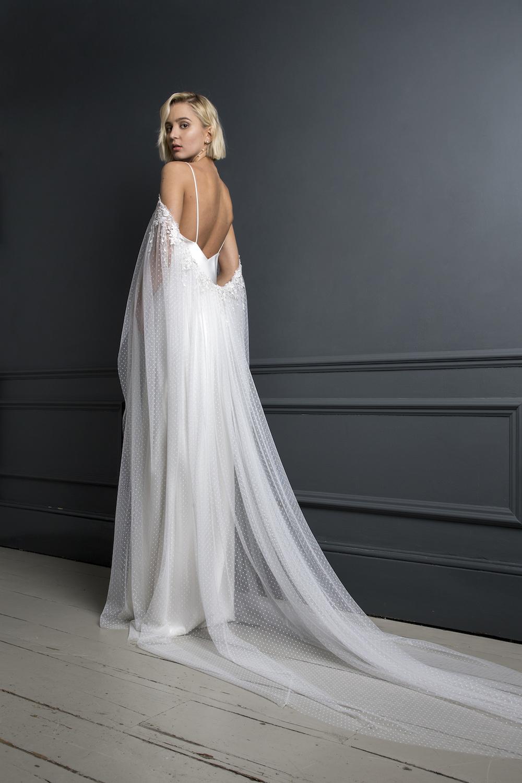 PETER CAPE & IRIS SLIP | WEDDING DRESS BY HALFPENNY LONDON