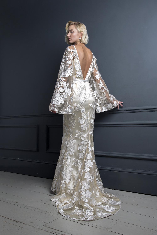 STEVIE DRESS | WEDDING DRESS BY HALFPENNY LONDON