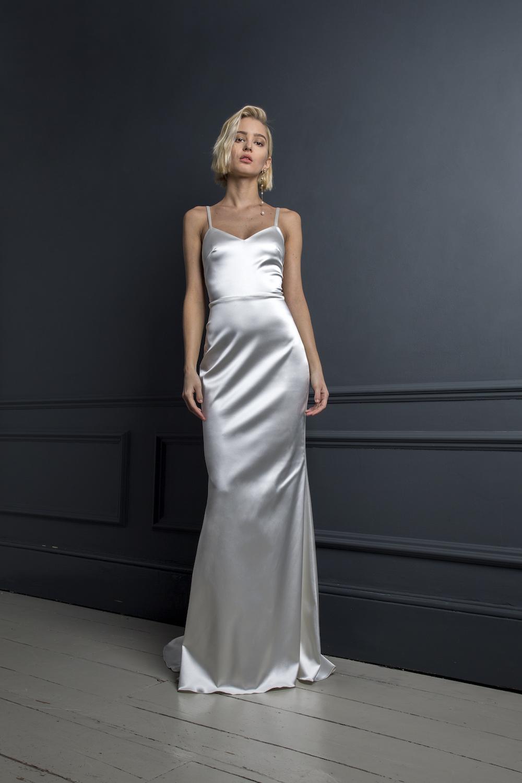VICTOR SLIP | WEDDING DRESS BY HALFPENNY LONDON
