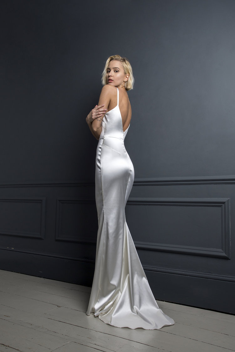 VICTOR SLIP | WEDDING DRESS BY HALFPENNY LONDON
