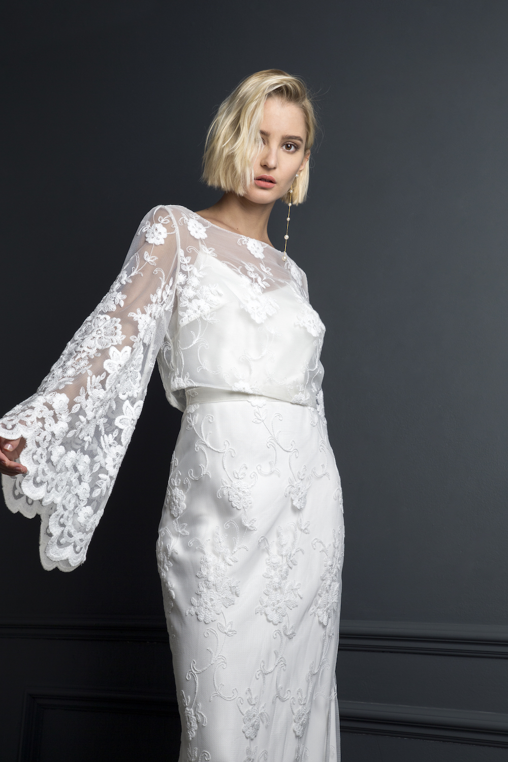 CHARLIE TOP & SKIRT | WEDDING DRESS BY HALFPENNY LONDON