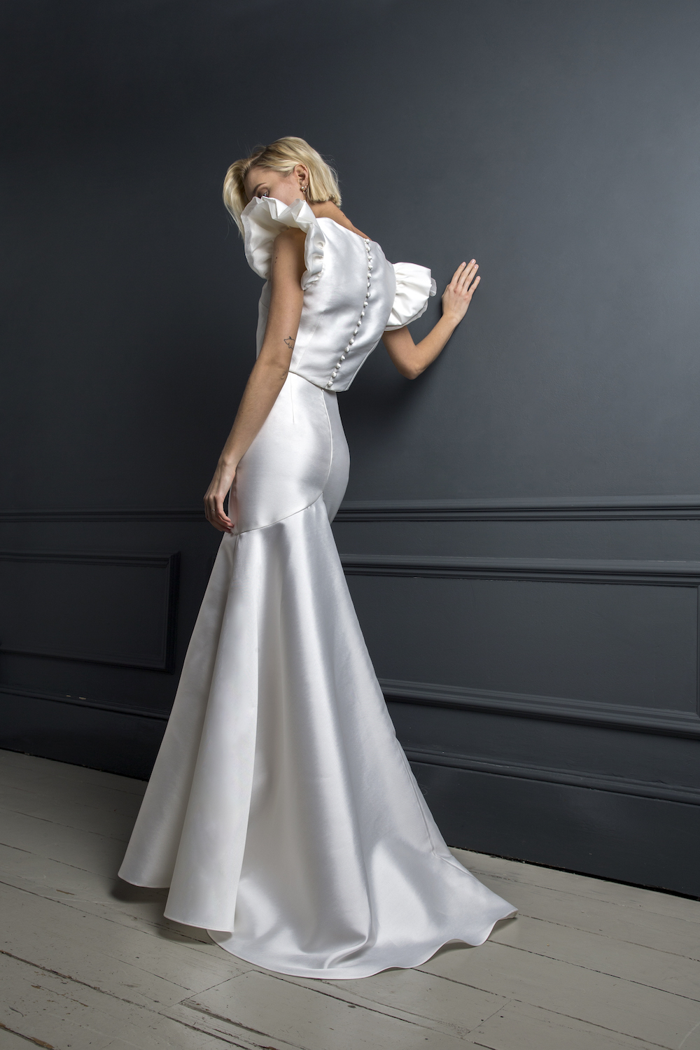 GEORGE TOP & SKIRT | WEDDING DRESS BY HALFPENNY LONDON