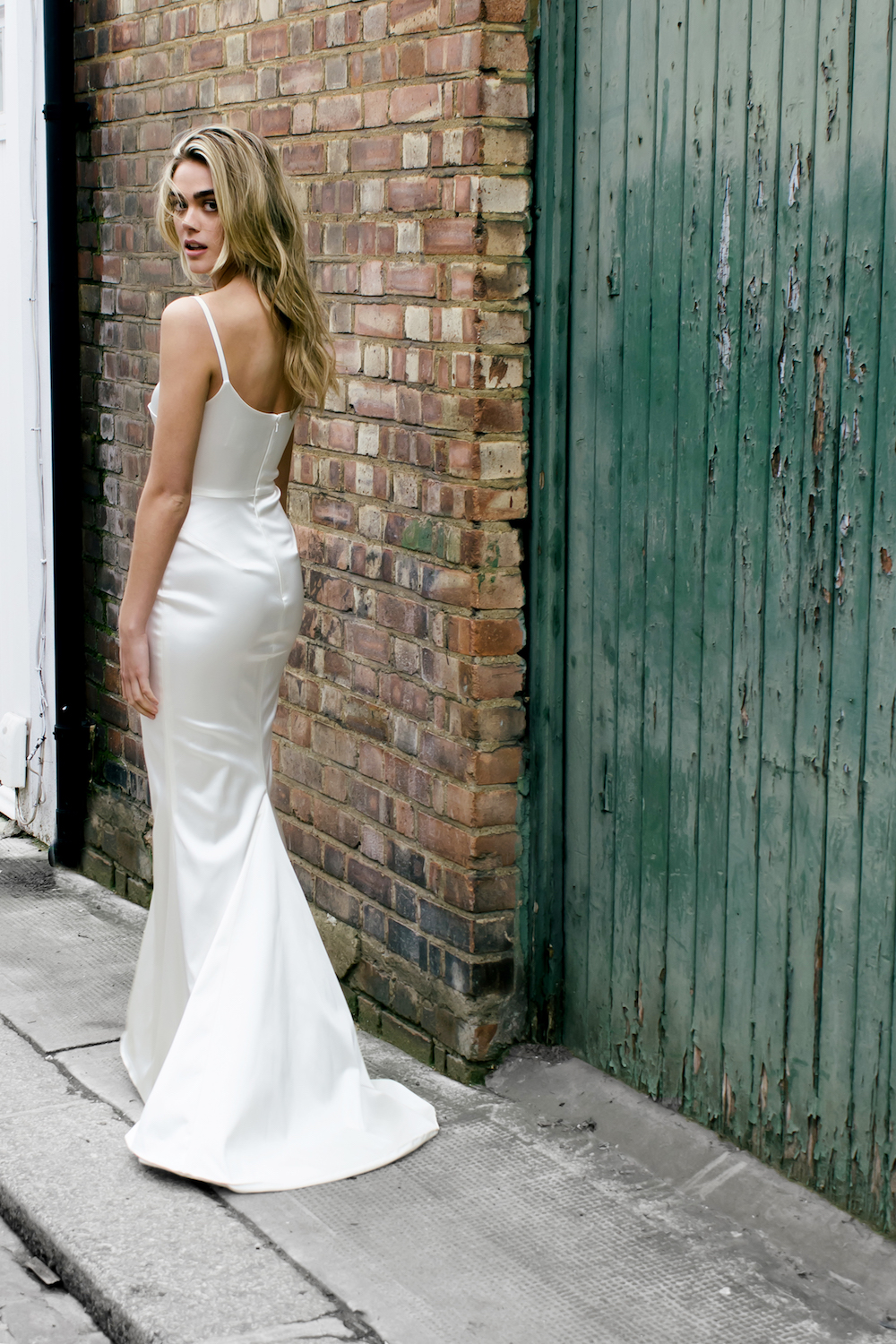 Dion wedding dress by Halfpenny London | Available on Net-A-Porter