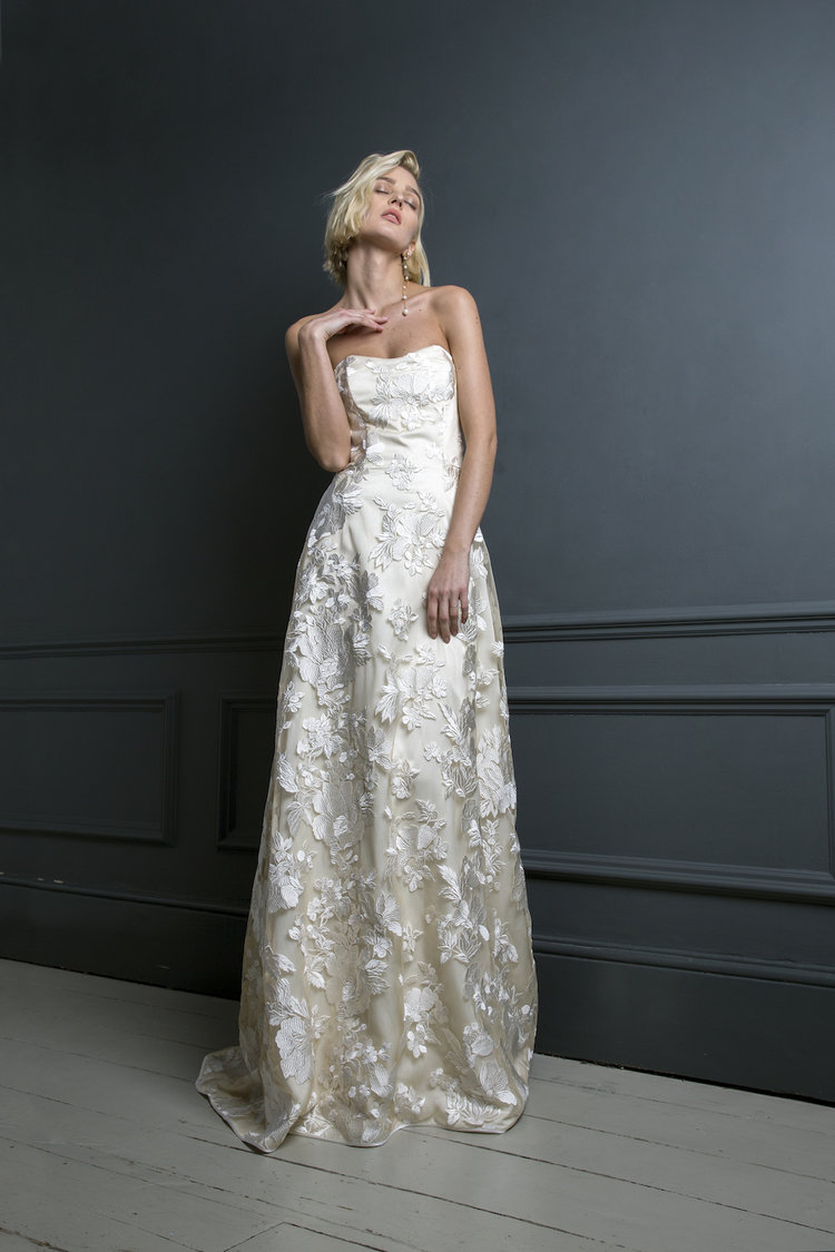 SYLVESTER DRESS | WEDDING DRESS BY HALFPENNY LONDON