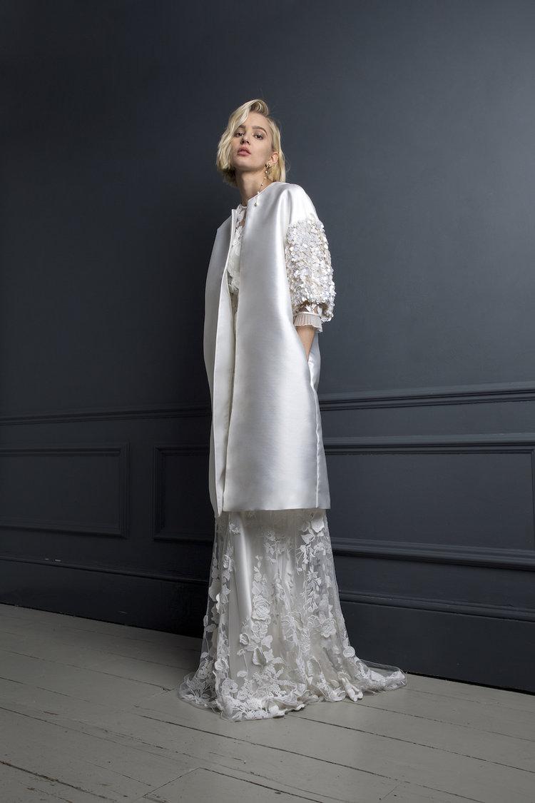 Duffy coat | Winter wedding jacket by Halfpenny London