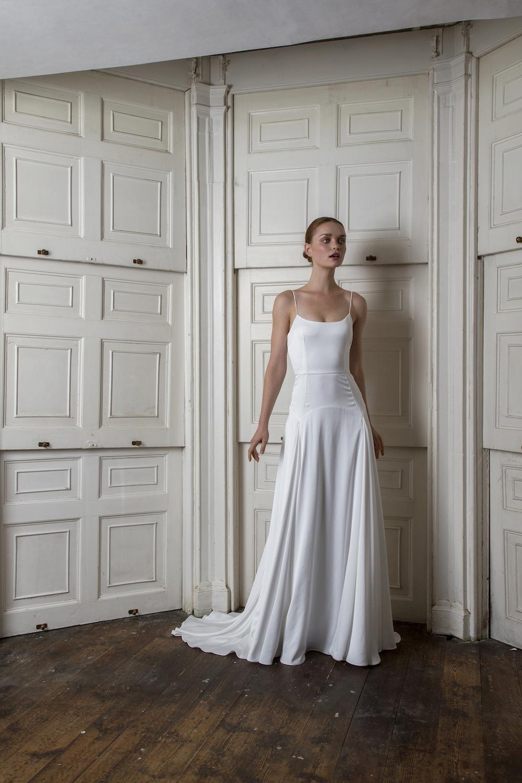FINSBURY DRESS | WEDDING DRESS BY HALFPENNY LONDON