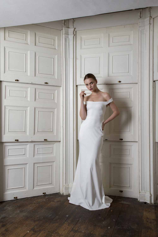 HARBOUR DRESS | WEDDING DRESS BY HALFPENNY LONDON