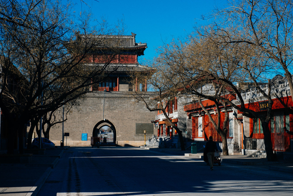 "Inside Wanping fortress today are many shops, restaurants and museums dedicated to the Sino-Japanese war, called the ""Anti-Japanese war"" by the Chinese."