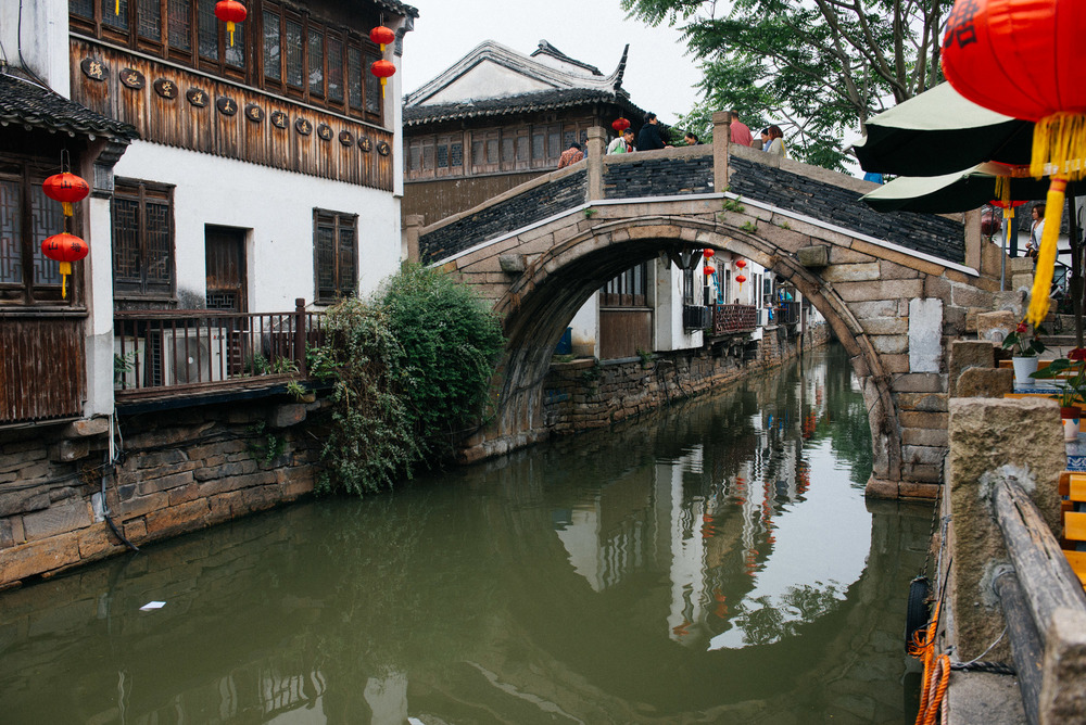 Shantang Street has been here for 1200 years, but was restored recently in 2002 as part of a program to bring in more tourists.