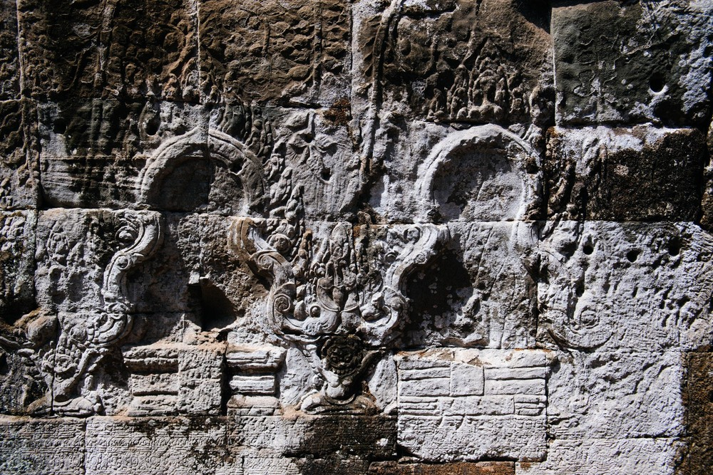 The Bayon is full of inscriptions of famous battles and mythological events. Every wall there is a depiction that tells a story. You can stay hours just looking at the walls. Get a book or  look them up online  before a visit, it helps to understand what you see.