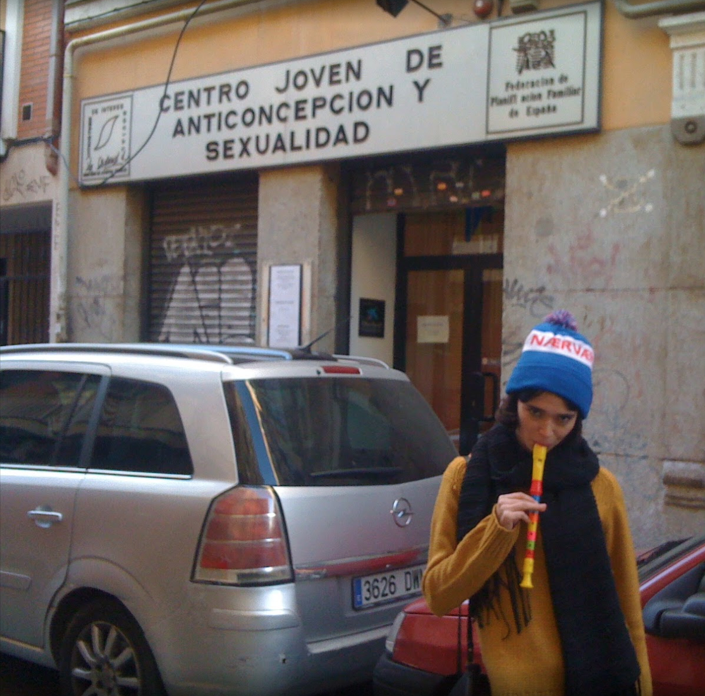 PICTURE OF ME IN MADRID CIRCA 2011