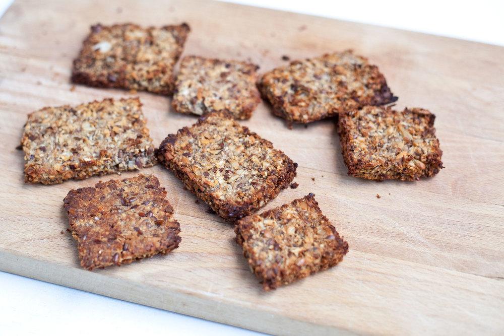 Sweet Seed Date Toast