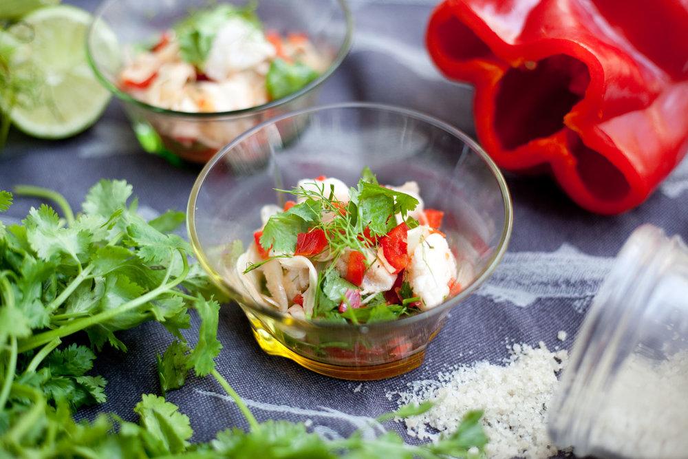 Fresh Market Cod Ceviche