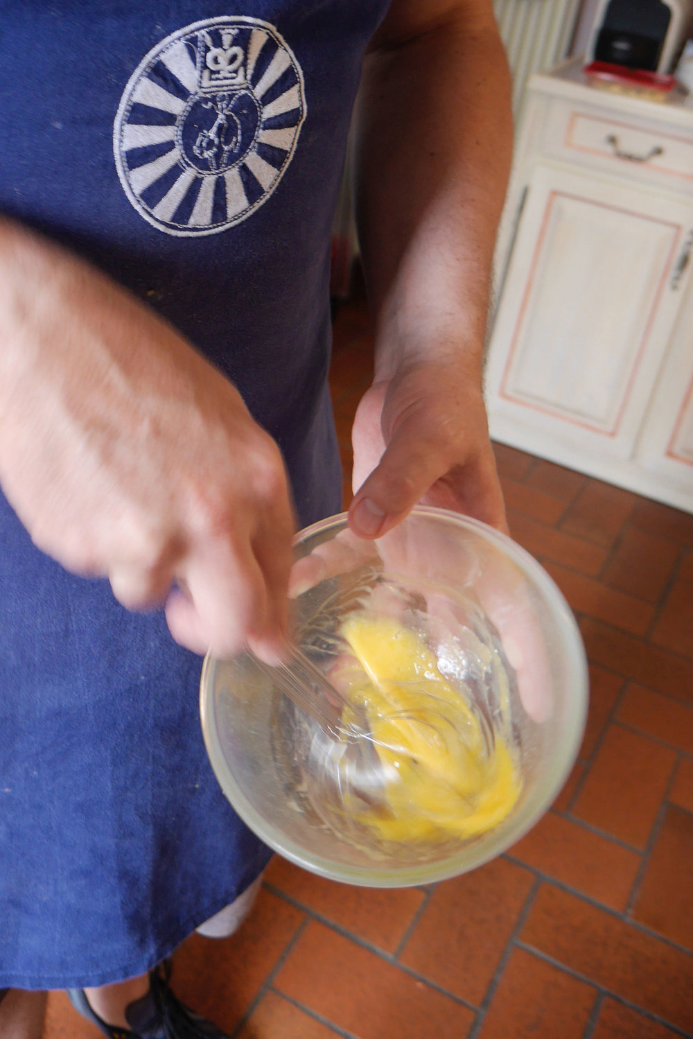 Whisk it up with Dijon mustard.