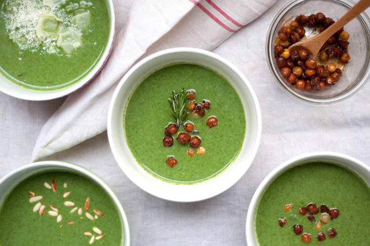 Velouté Depinards Fancy Name For Spinach Soup Foto Feed Me