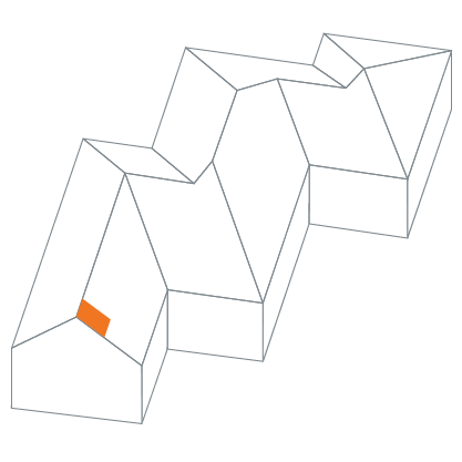 gable rake left diagram