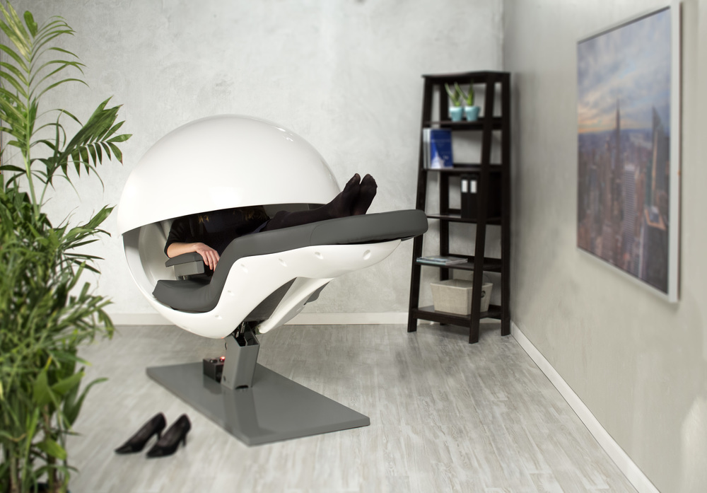 Office sleeping pod Modern 02womaninenergypodjpg Wjla Metronaps