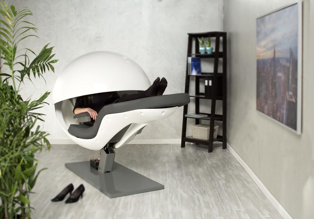 Office relaxation Business Woman 02womaninenergypodjpg Ikea Metronaps