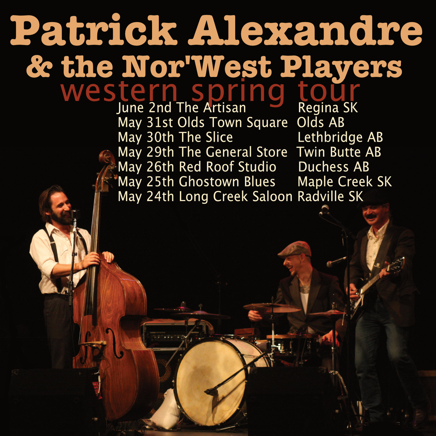 Patrick Alexandre & the Nor'west Players