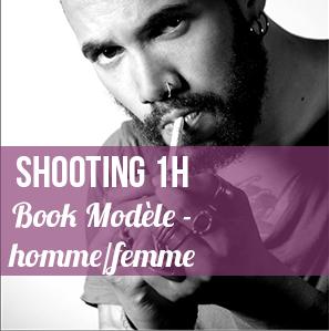 """Shoot """"test"""" d ' 1 heure destiné à compléter des books modèles :     - 100 € sur facture pour 5 photos restituées post traitées    - 150 € sur facture pour 10 photos restituées post traitées"""