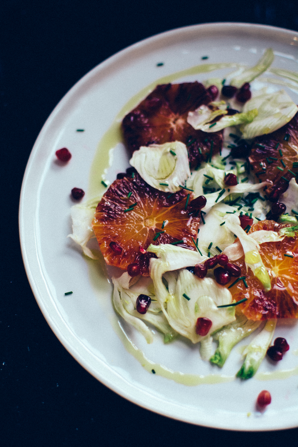 Fennel + Blood Orange Salad | Thyme & Honey