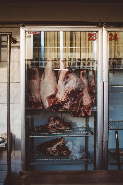 Hanging meat | Gabriella Simonian ©