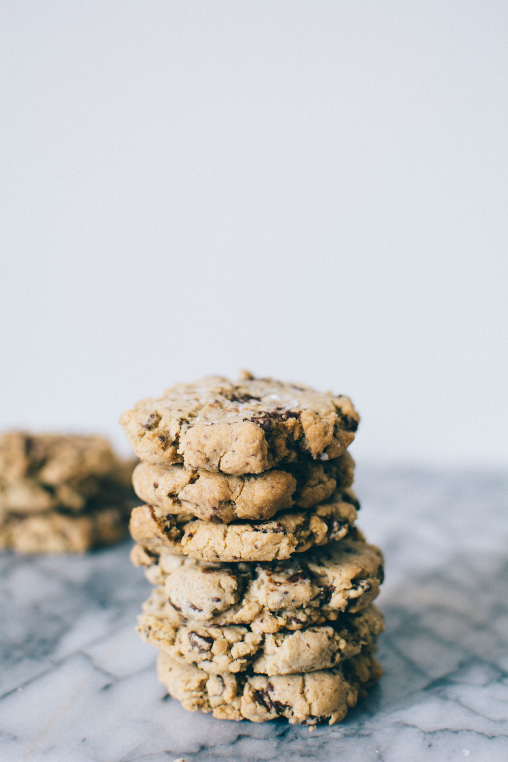 Dark Chocolate + Sea Salt Cookies | Thyme & Honey