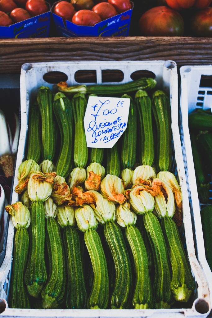 Courgettes in Rome