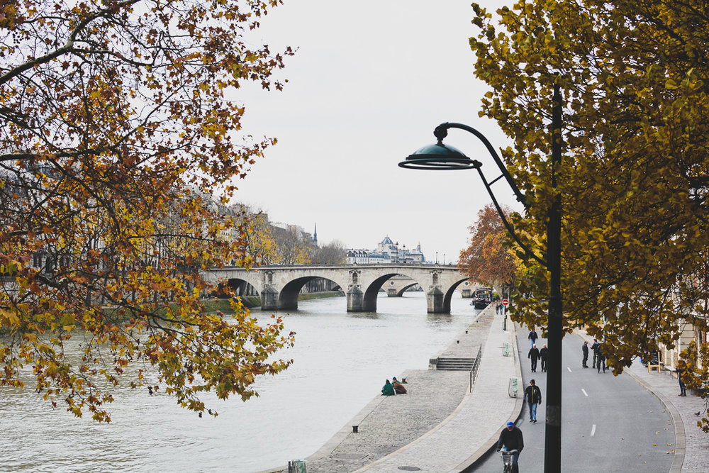 La Seine, Paris