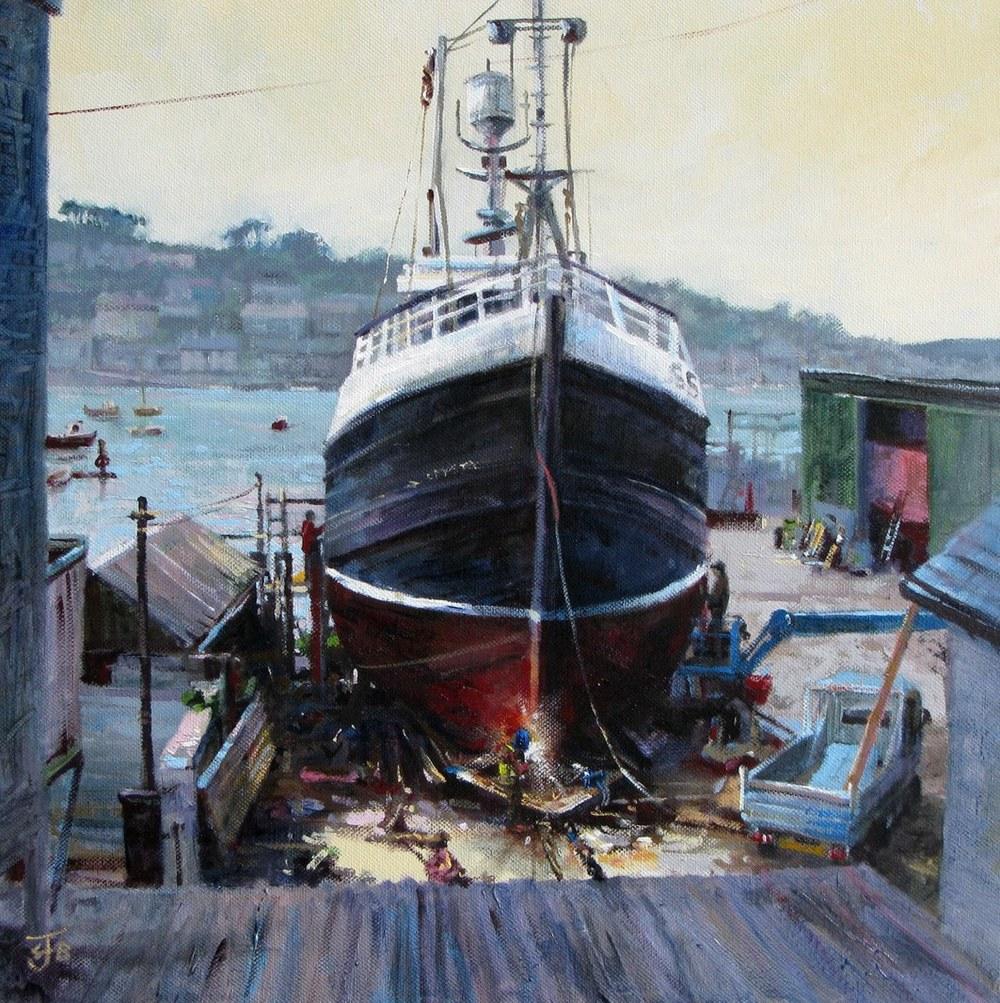 Polruan Boatyard