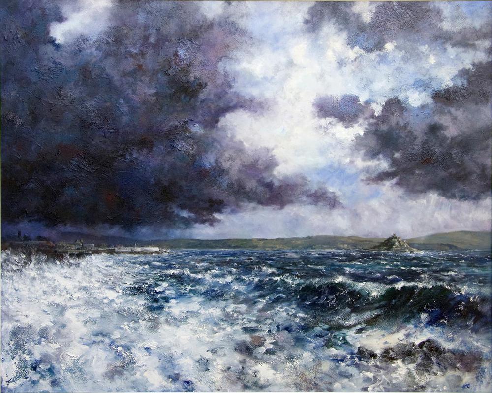 Break in the Storm Clouds, Mounts Bay