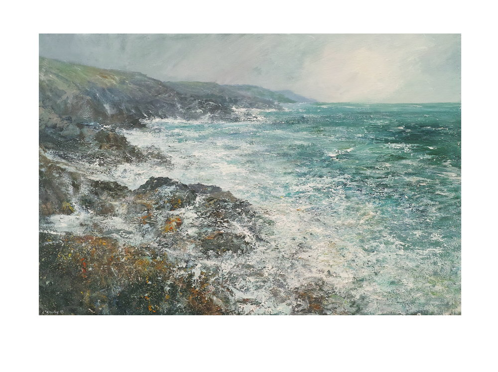 Gale, Carn Naum Point Nr. Zennor